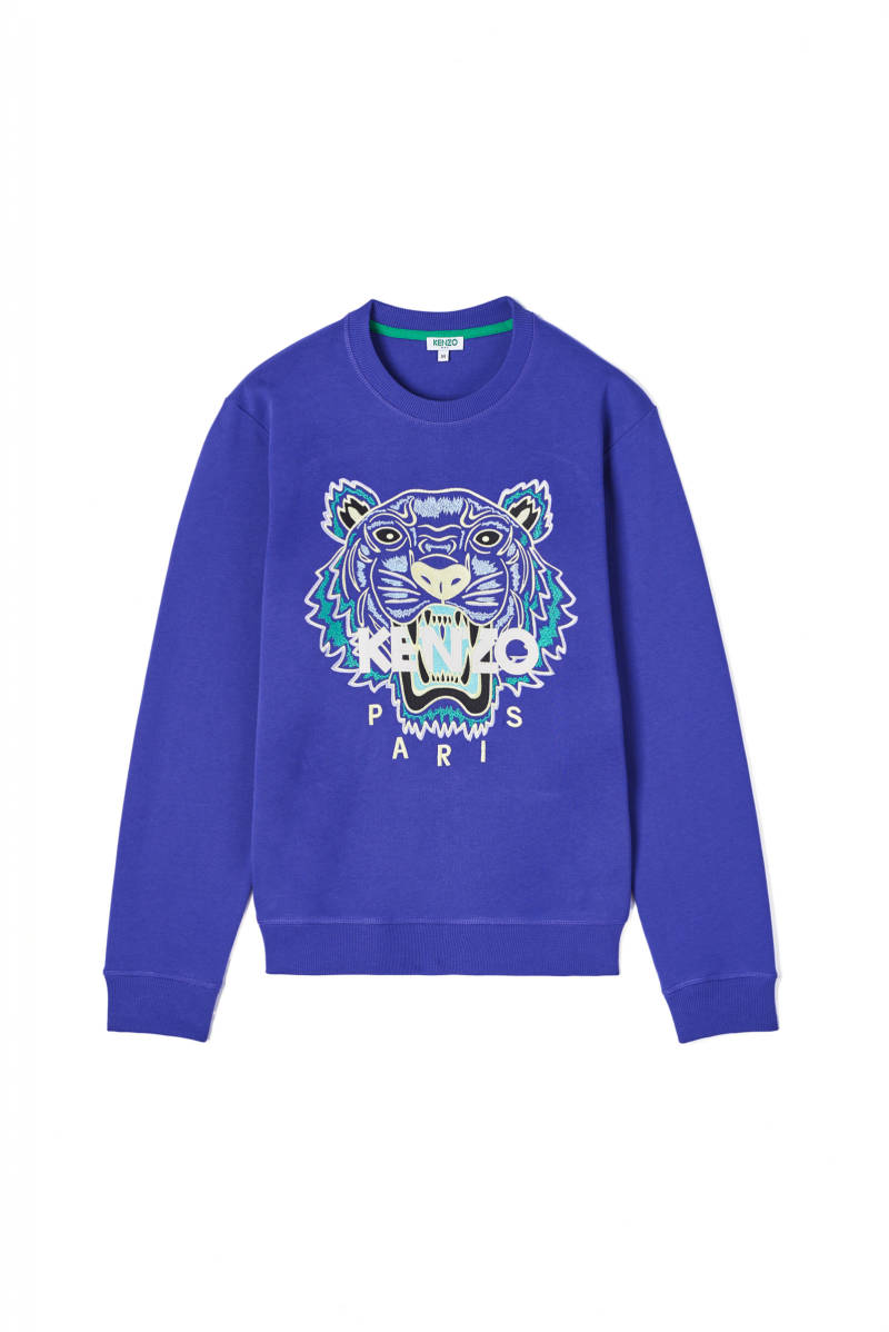 Kenzo classic tiger paars