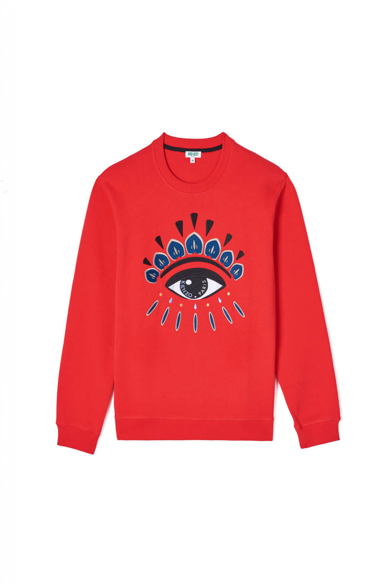 Kenzo Eye sweatshirt red