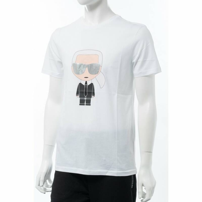 Karl lagerfeld T-shirt in het wit