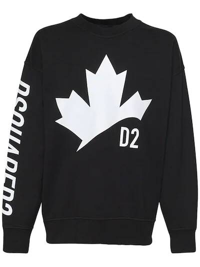 Dsquared2 leaf sweater SS21