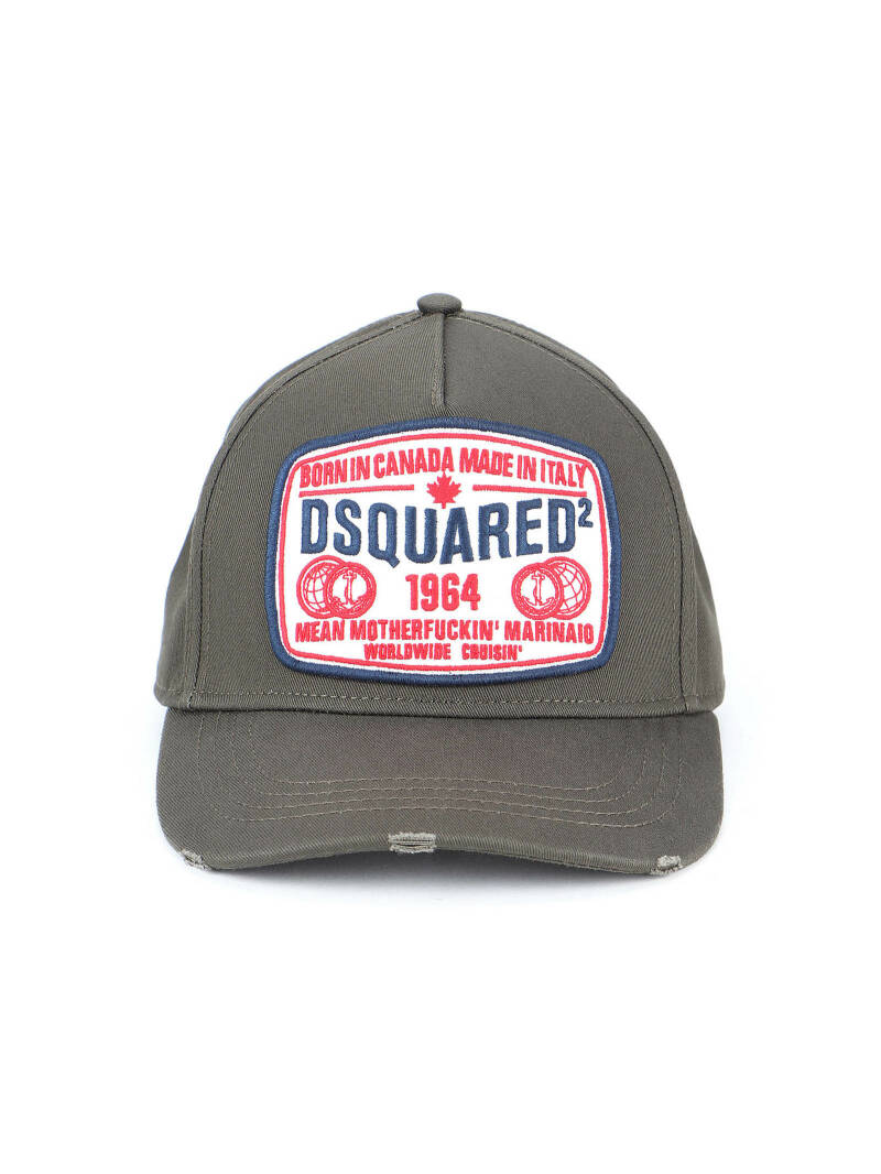 Dsquared cap mean motherfucker green