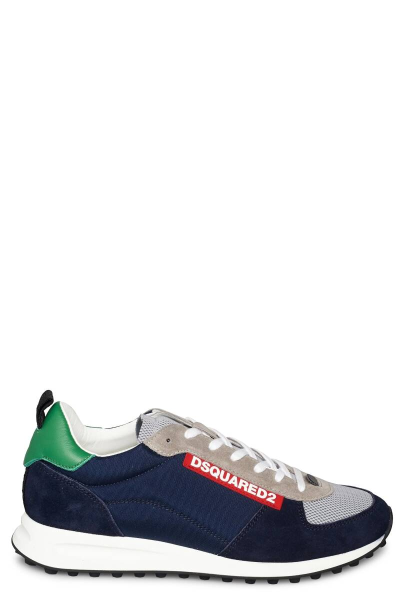Dsquared sneakers new runner blauw green