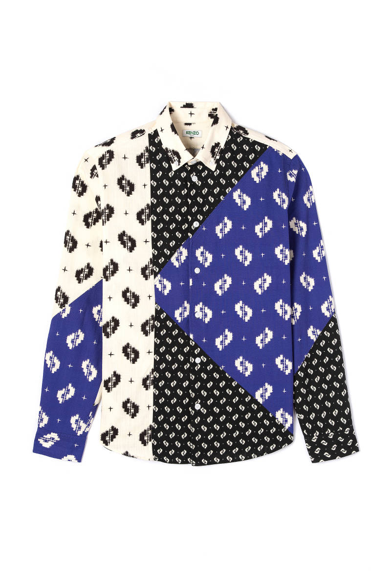 Kenzo K-Shirt all over print