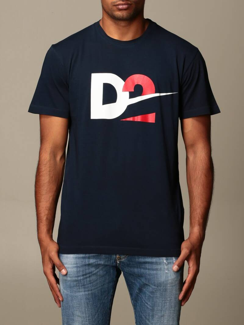 Dsquared T-shirt donkerblauw D2