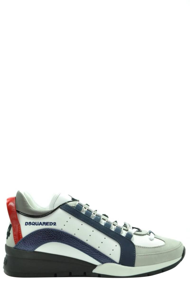 Dsquared sneaker 551 blauw/rood