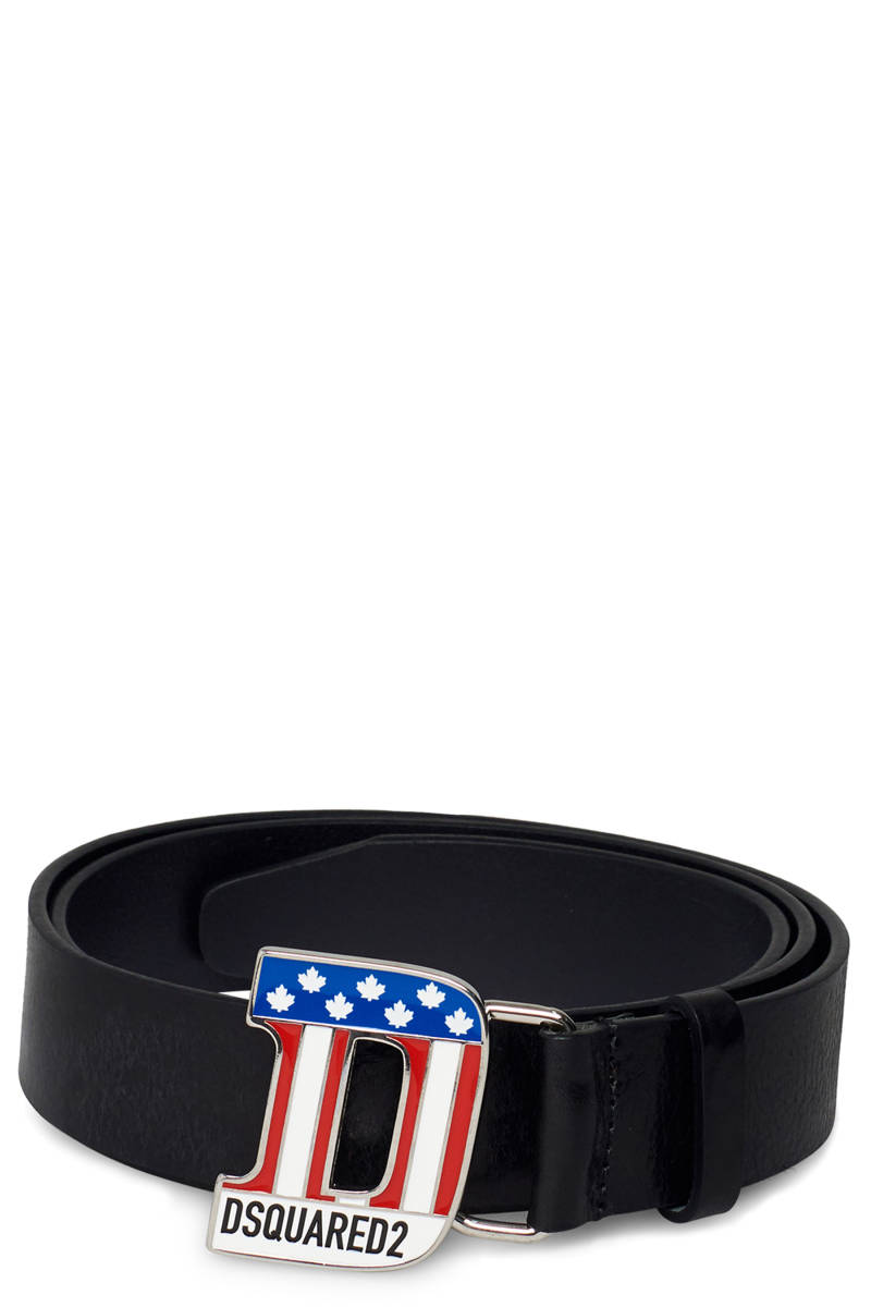 Dsquared flag belt