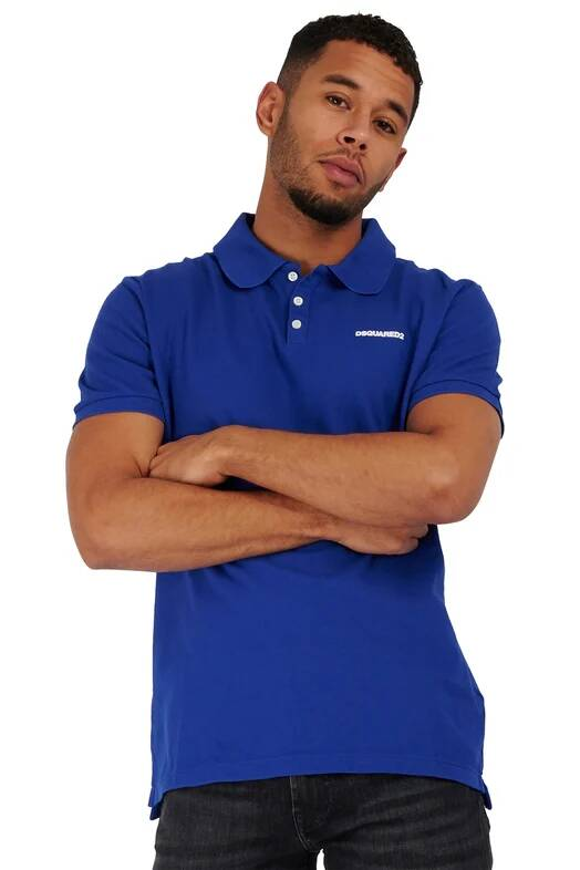New Dsquared2 polo blue SS21