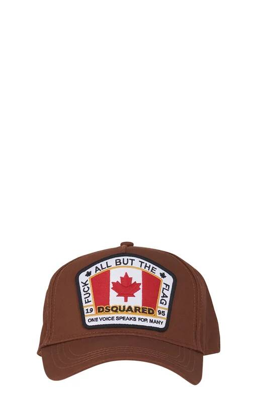 Dsquared2 cap FTF brown FW21