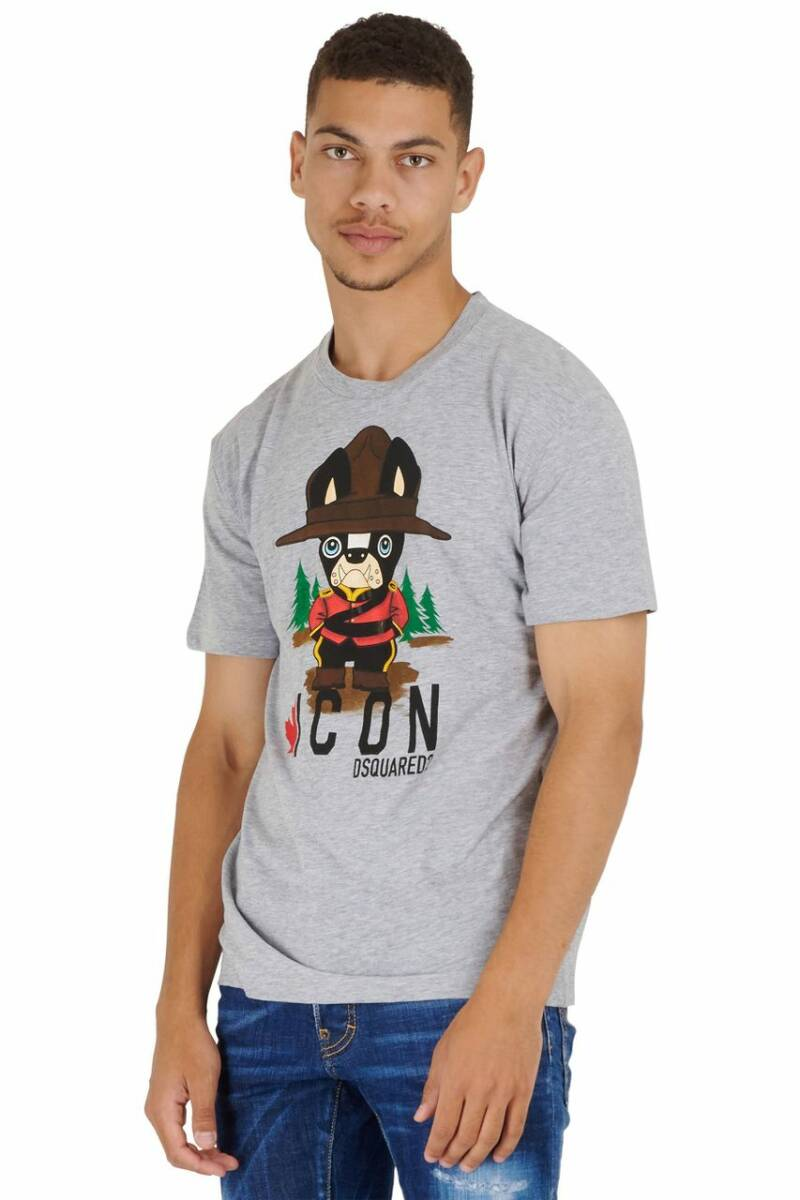 Dsquared2 T-shirt special grey FW21