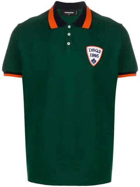 Dsquared polo groen