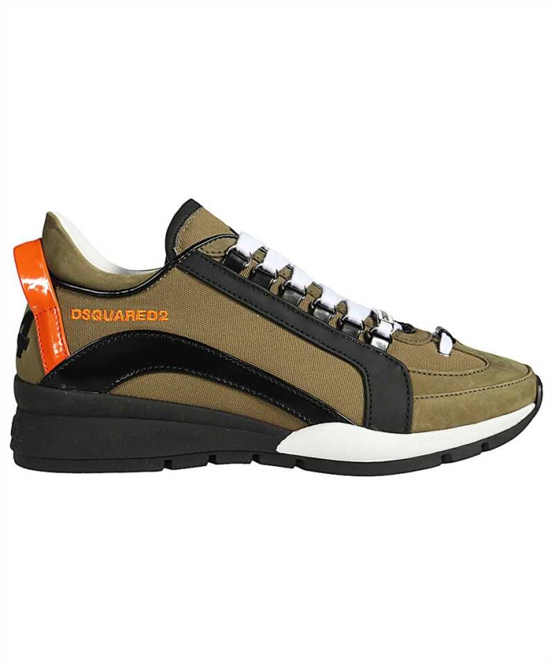 Dsquared2 wave sneaker military green SS21