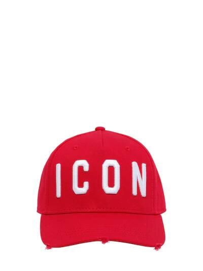 Dsquared2 classic red icon cap SS21