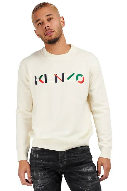Kenzo pullover wit