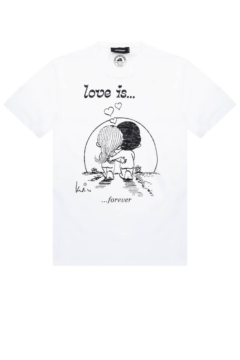 Dsquared T-shirt love is forever