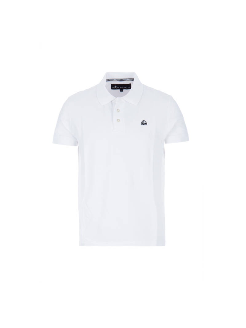 Moose knuckles polo white SS21