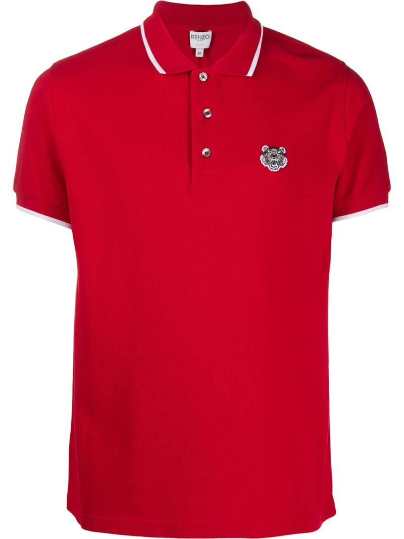 Kenzo K-fit polo rood