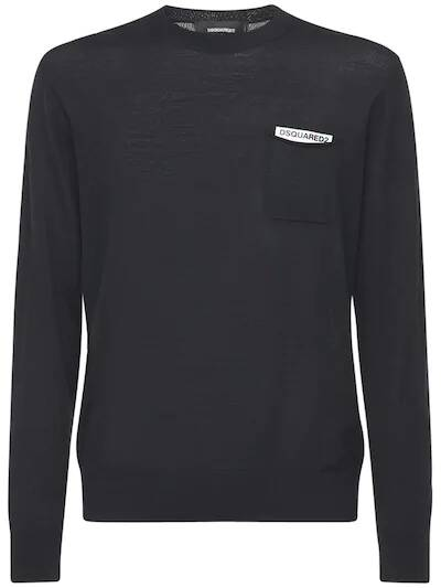 Dsquared2 pullover black SS21