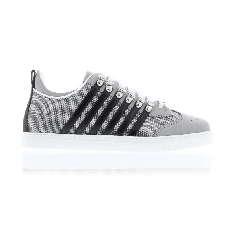 Dsquared2 Lace-Up Low top sneaker grigio