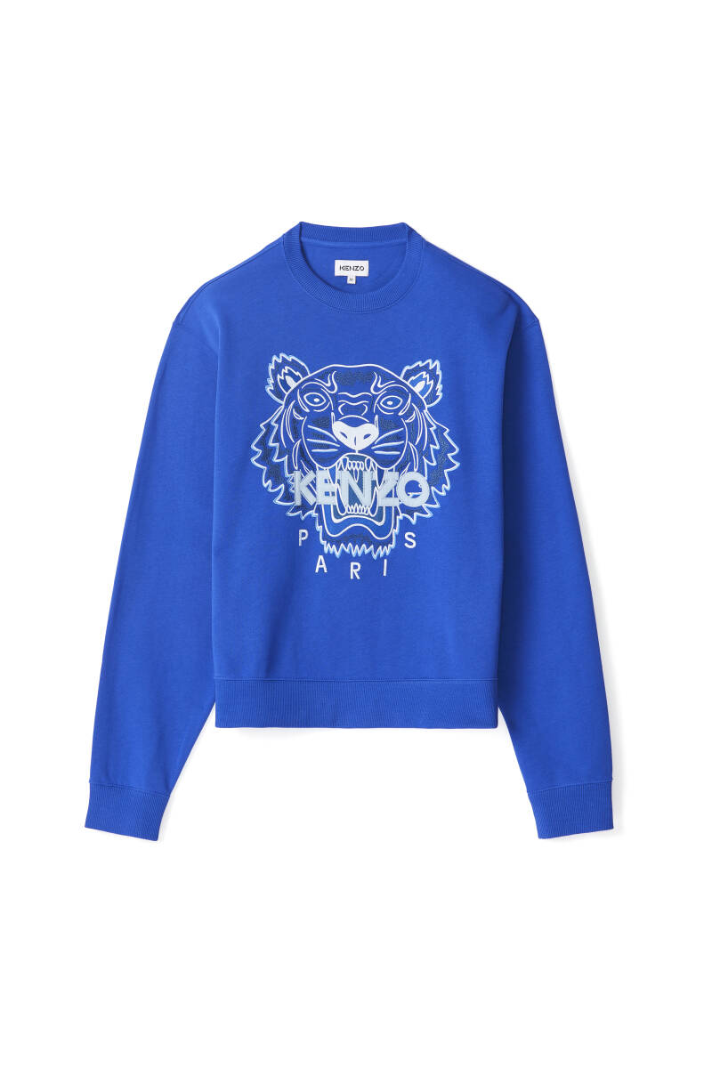 Kenzo tiger sweater royal blue SS21