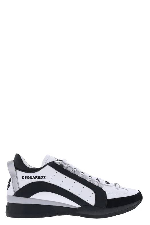 Dsquared2 551 sneaker white/silver SS21