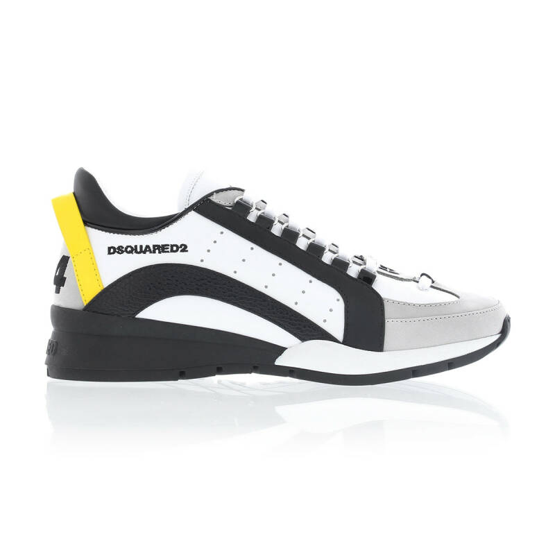 Dsquared sneakers 551 white/yellow