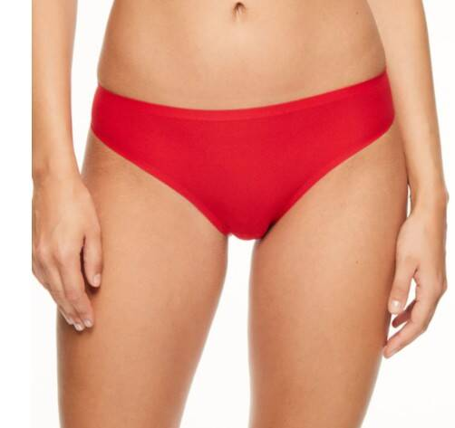 Soft Stretch Naadloze String - 2649 - rood