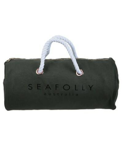 Seafolly Tas Carried Away - 71412-BG - Dark Olive