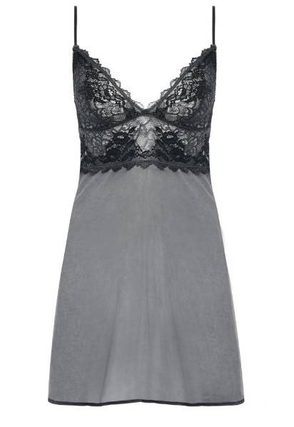Jurkje Lace Perfection van Wacoal in de kleur Charcoal - WE135009.