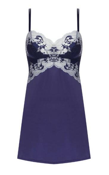 Jurkje Lace Affair in de kleur Patriot Blue -  WA812256459