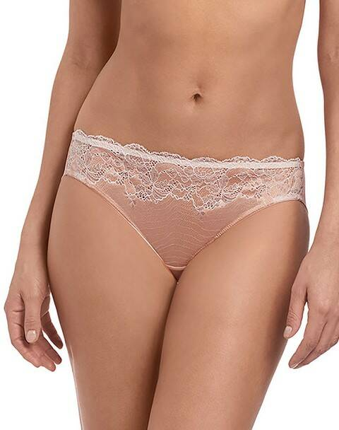 Slip Lace Affair - WA 846256 - Rose Dust / Angel Wing
