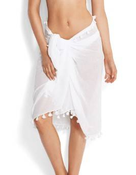 Seafolly Pareo On Going - 52965-SG - Wit