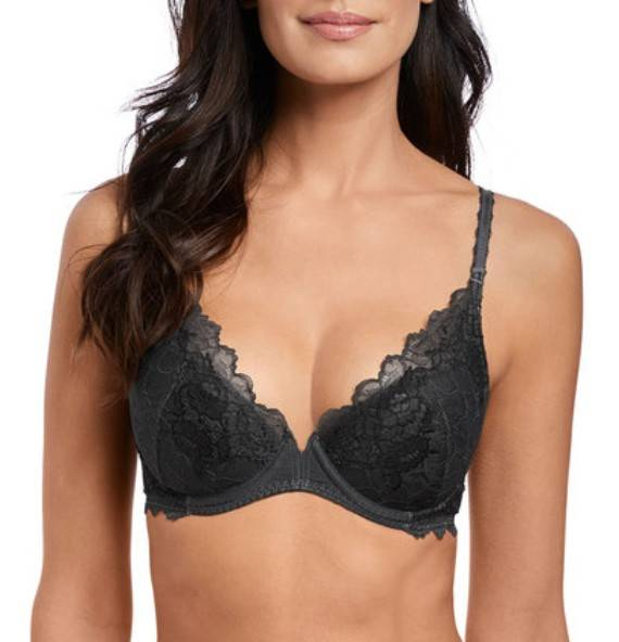 Push Up BH Lace Perfection - WE135003 - Charcoal