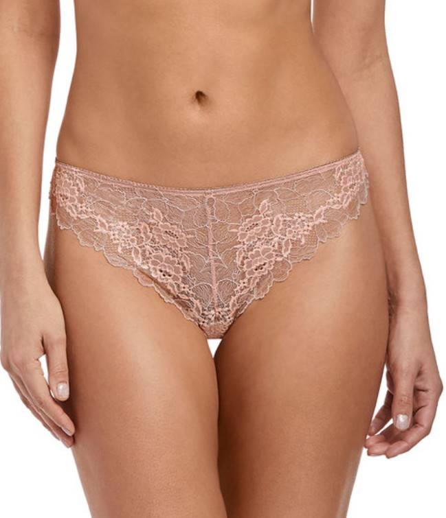 String Lace Perfection - WE135007 - Rose Mist