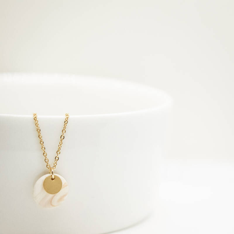 sandstone | coin necklace