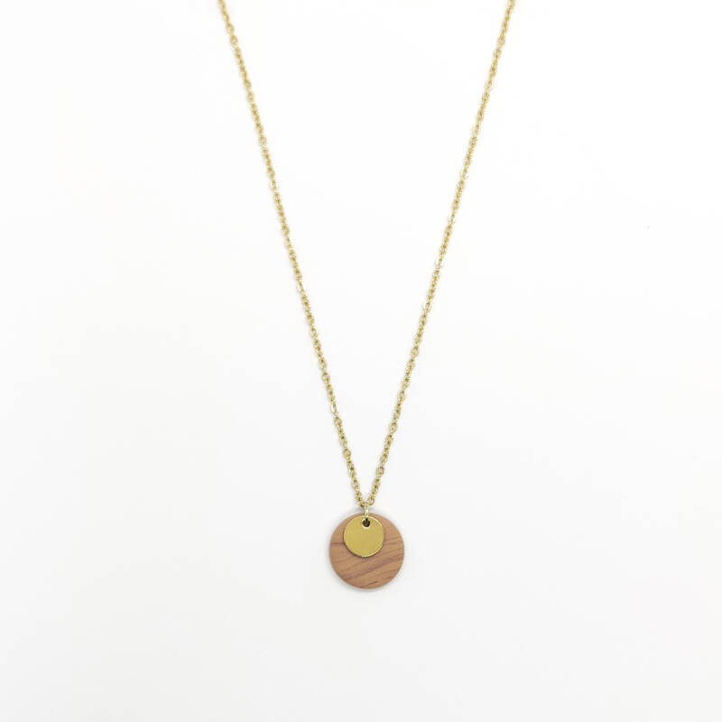 sunrise | coin necklace