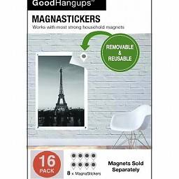 REPLACEMENT MAGNASTICKERS GOODHANGUPS WITHOUT MAGNETS 16-PACK