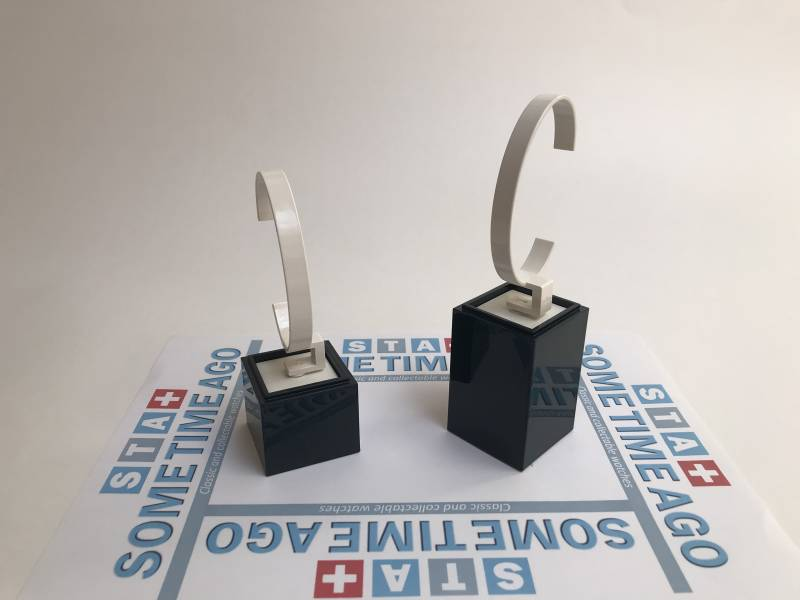 Set of 2 watch stands high and low - great quality