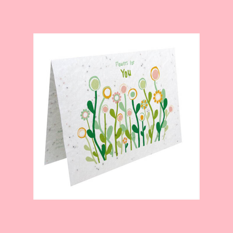 Flowers for You   Growcard