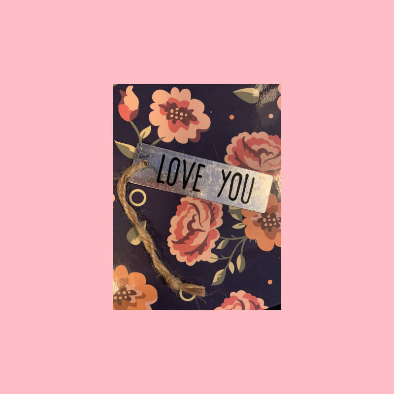 Love you 1 | label