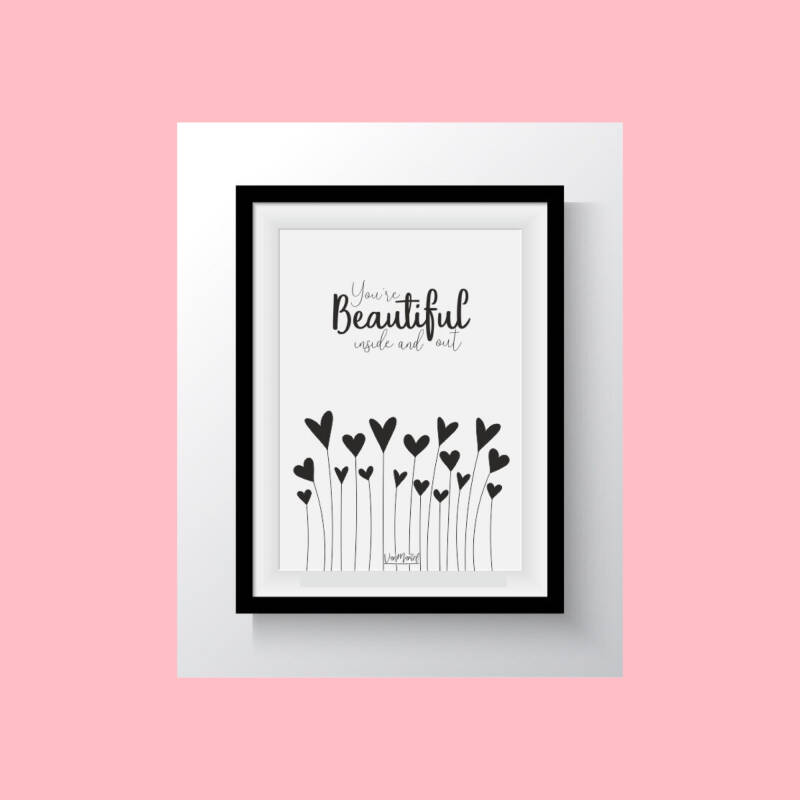 Beautiful inside and out | Postkaart