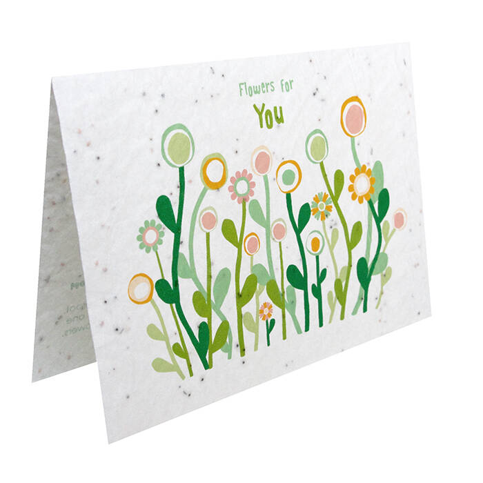 Growcard flowers for You