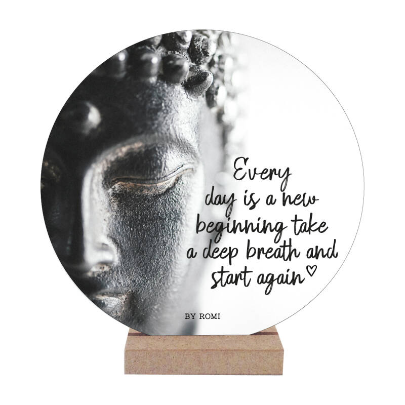 Wooncirkel | Every day is a new beginning take a deep breath and start again