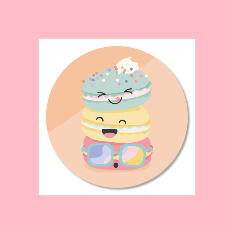 Macarons | Stickers