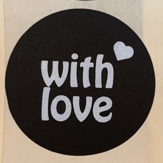 With love stickers