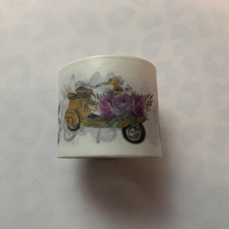 Scooter breed washi tape