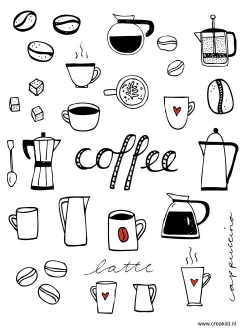 Stickers - Coffee time - CKSE0003