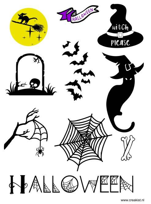 Stickers - Halloween witch please - CKSH1001