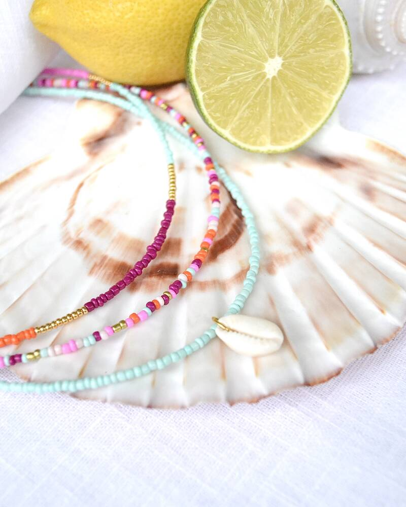 MIXED COLOR NECKLACE