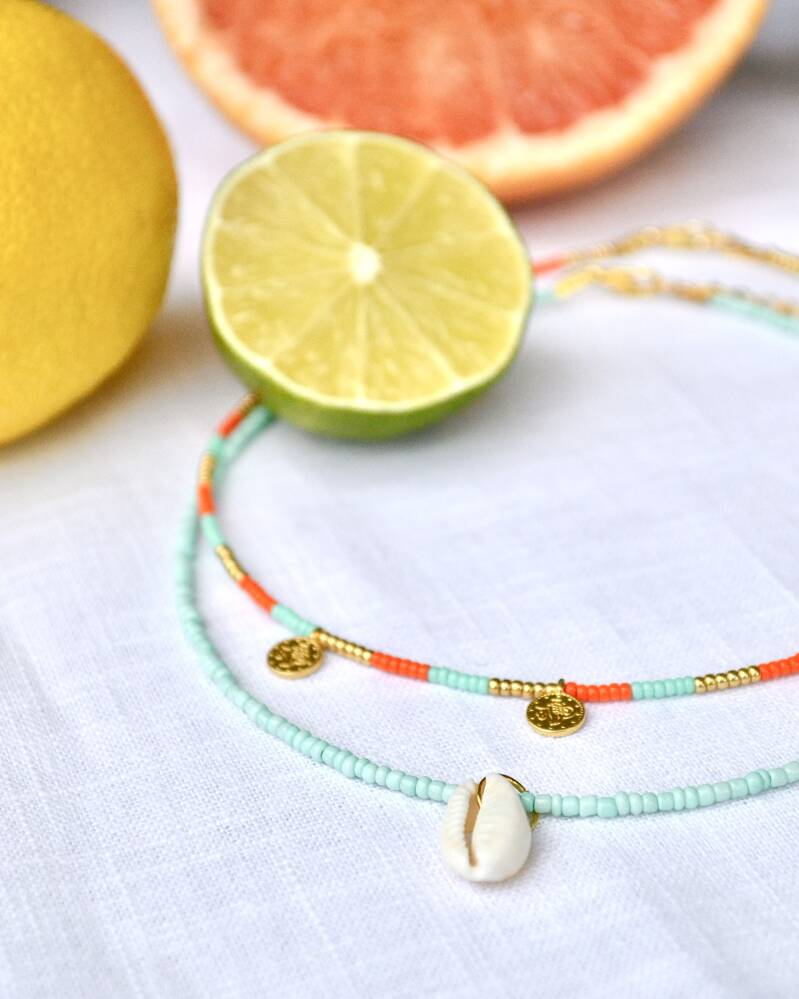 SUMMER COINS NECKLACE