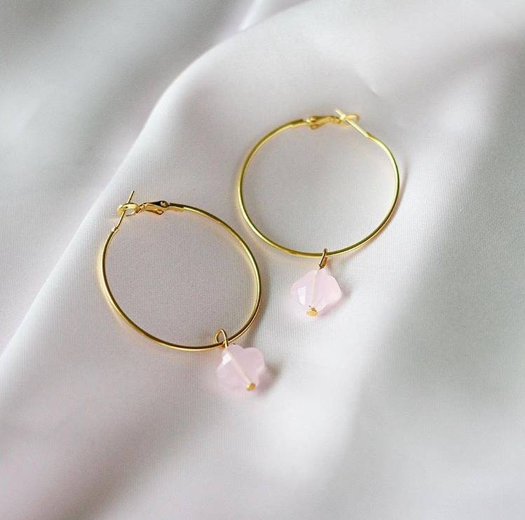 Clover Rings Pink